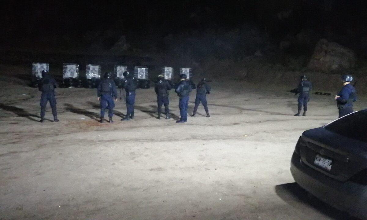 Refuerza PESP capacitación para policías de nuevo ingreso