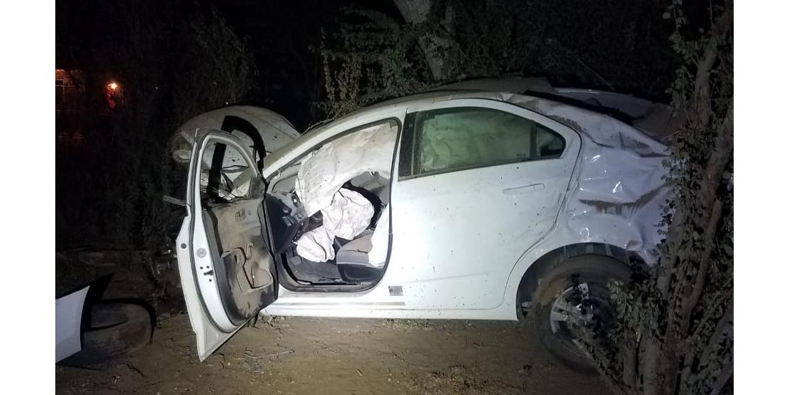 Muere mujer en accidente de automovilístico en el valle de SLRC