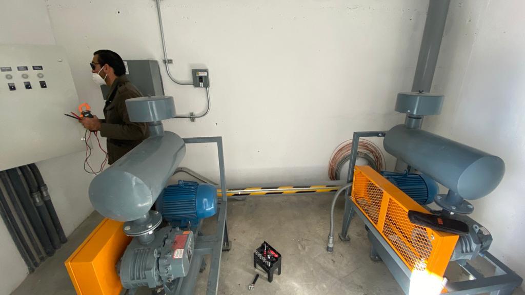 Realizan primeras  pruebas en planta tratadora de Lagunitas