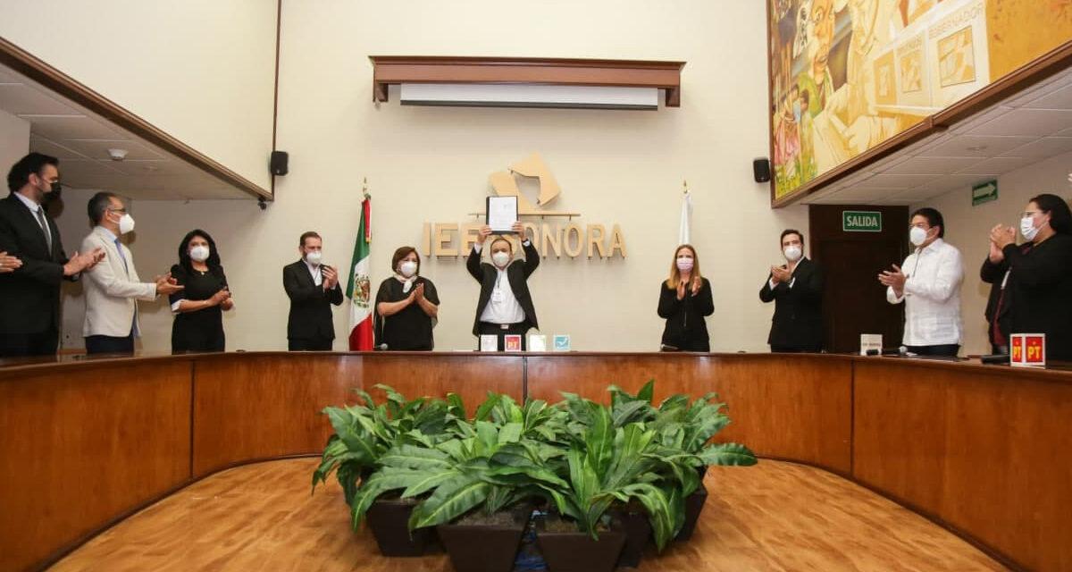 Se registra Durazo ante el IEE como candidato a la gubernatura de Sonora