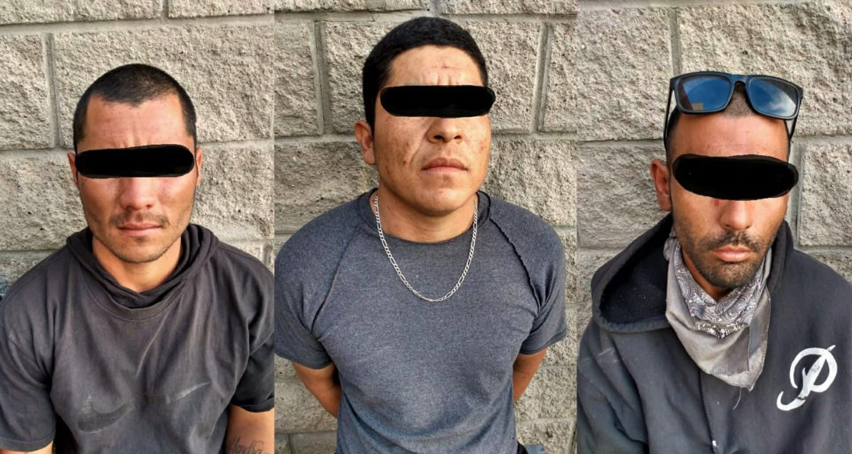 Detiene Policía Municipal a sospechosos de violento robo