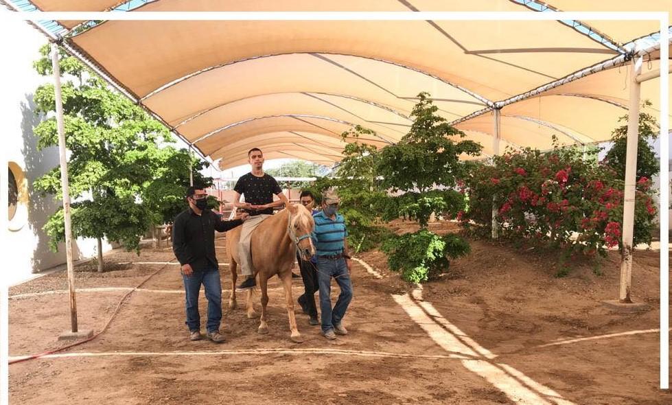 Ofrece DIF Municipal rehabilitación con Equinoterapia