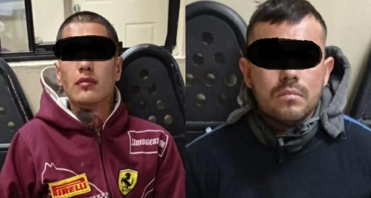 Detienen municipales a dos por robo violento en SLRC