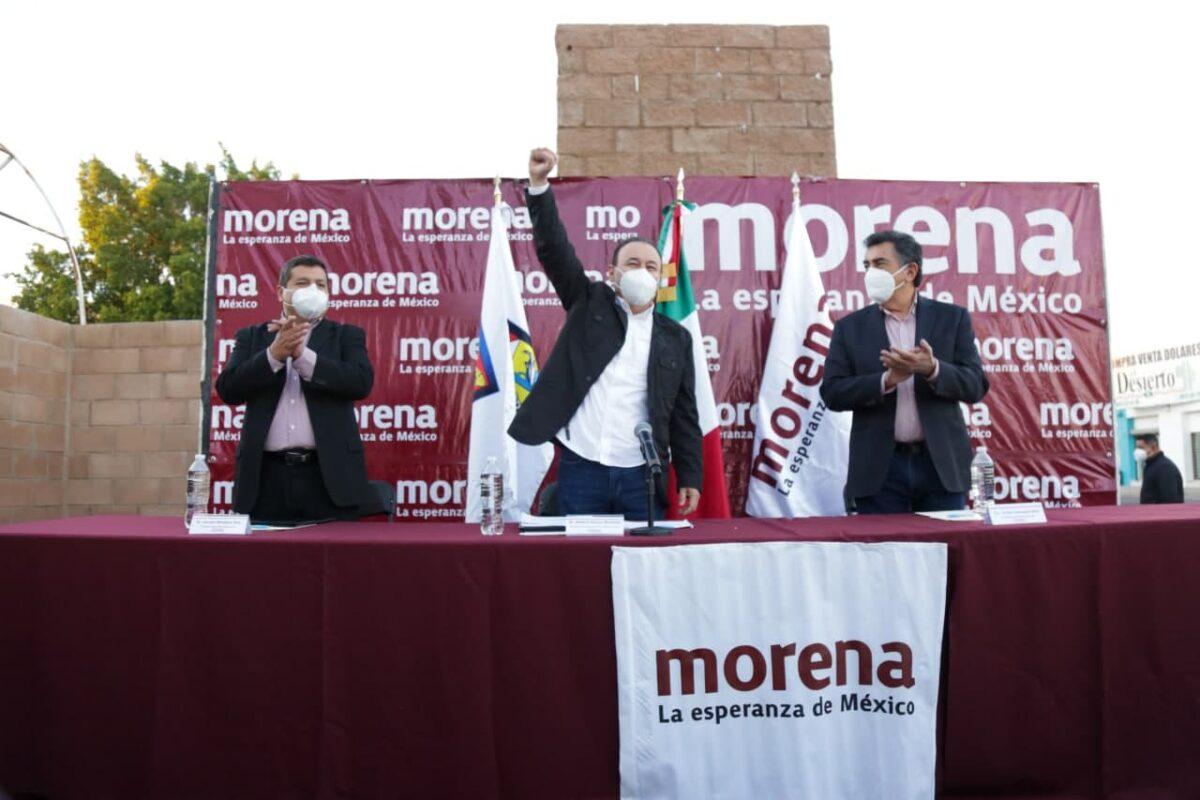 Alfonso Durazo ya es candidato de Morena por la gubernatura de Sonora