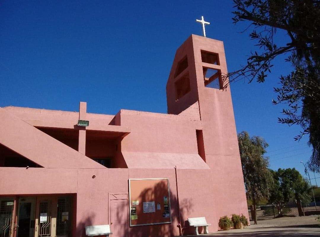 Roban llave de Sagrario de iglesia de San Luis, Arizona