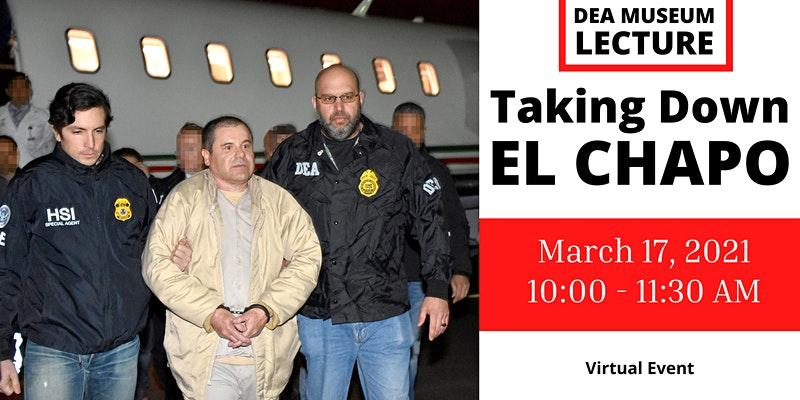 """Ofrecerá la DEA conferencia sobre la caída de """"El Chapo"""""""