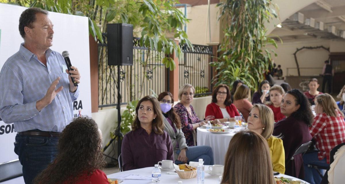 """Llama el """"Borrego"""" Gándara a cambiar mentalidades desde el Gobierno a favor de la lucha de las mujeres"""
