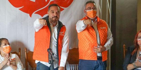 Montes Piña será la carta fuerte de Movimiento Ciudadano: Carlos León