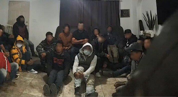 Descubren casa de seguridad de indocumentados en Somerton