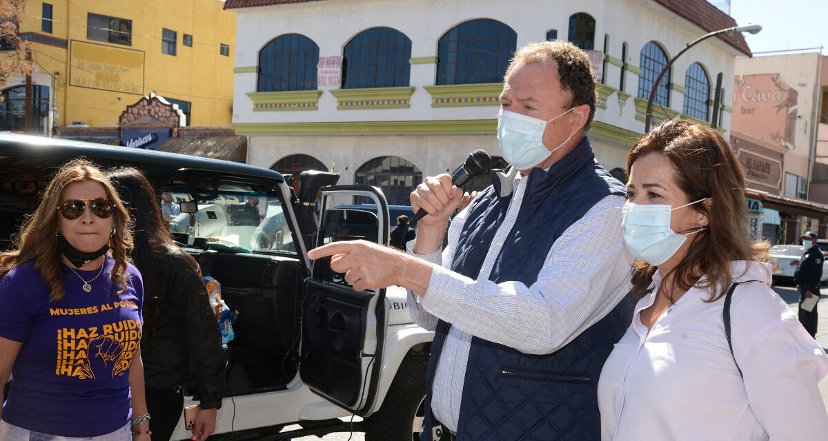 """Proteger a las mujeres será compromiso de mi Gobierno: """"Borrego"""" Gándara"""