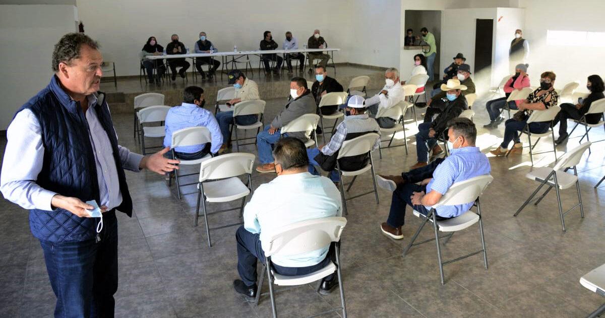 """Defender a los campesinos es prioritario para tener alimentos para nuestro pueblo: """"Borrego"""" Gándara"""