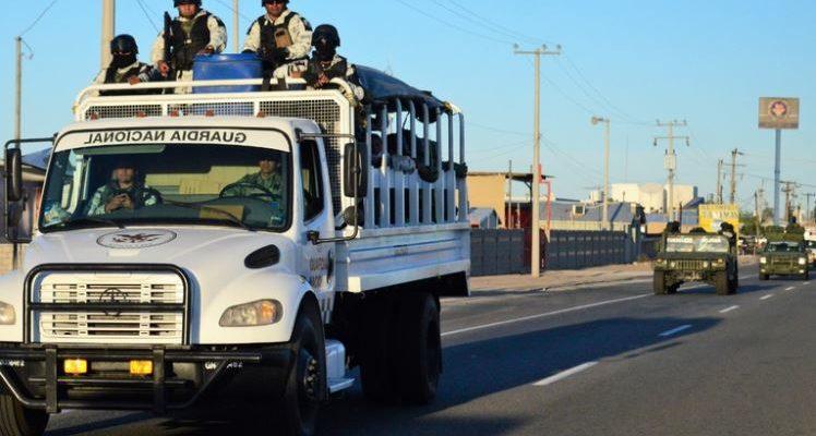 """Guardia Nacional provoca """"apagón"""" en Lagunitas"""