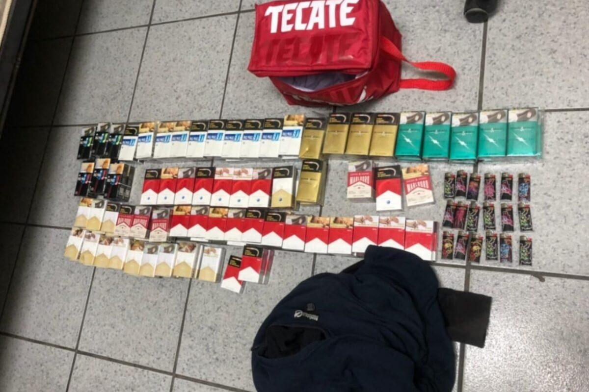 Lo detiene Policía Municipal por robo, daños y con drogas