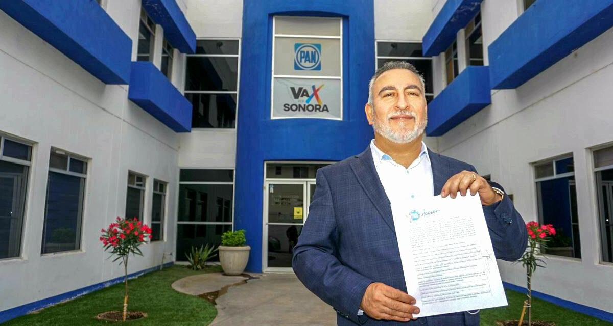 Se registra Alonso Montes Piña para competir por la alianza en San Luis Río Colorado