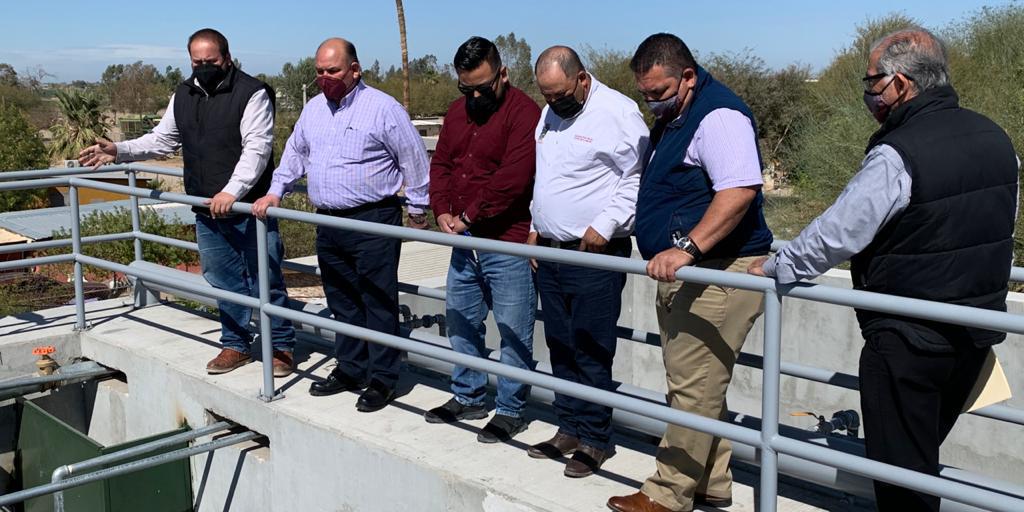 Entrega Alcalde nueva planta tratadora en Lagunitas