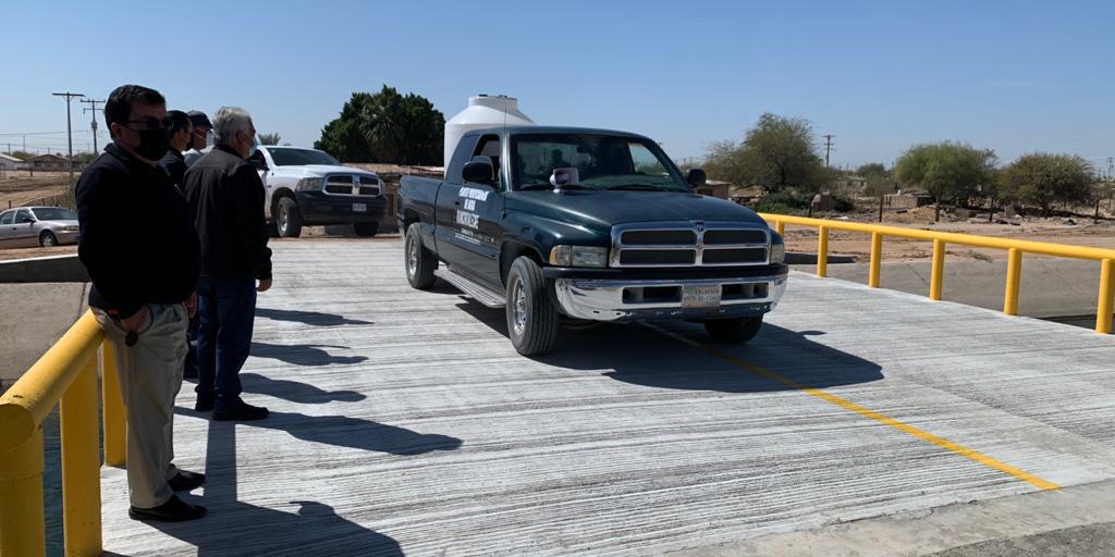 En operación nuevo puente vehicular en la Topahue