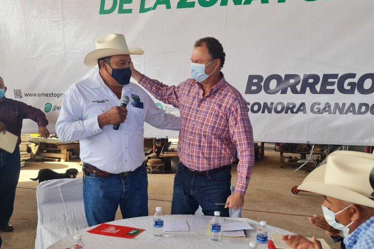 """""""El Borrego"""" visita la región del Mayo"""
