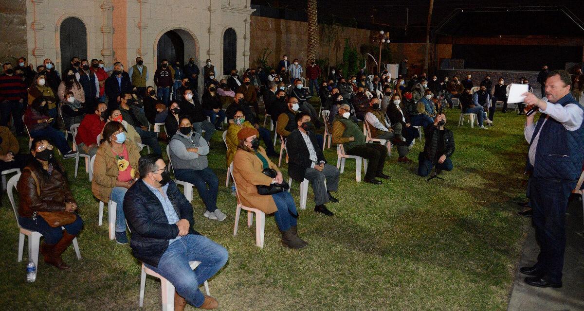 """En SLRC, como en todo Sonora, la Alianza se fortalece: """"Borrego"""" Gándara"""