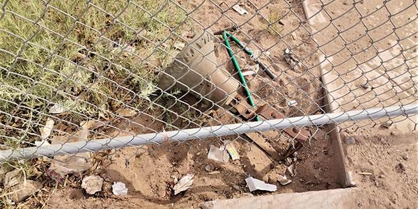 Ladrones intentaron robar campana de Primaria en SLRC
