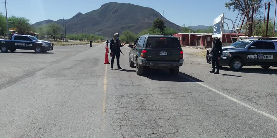 Patrulla PESP por aire y tierra para inhibir el delito patrimonial en Sonora