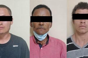 Arrestan a 3 hombres en posesión de sustancias prohibidas en SLRC
