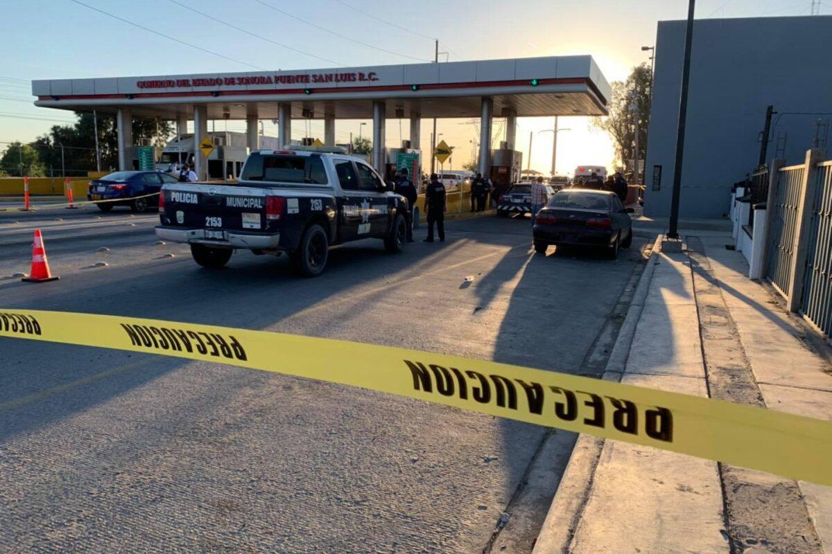 Se enfrentan a balazos presuntos sicarios y elementos policiales de Baja california