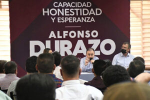Durazo propone la creación de un Consejo Consultivo empresarial en Sonora