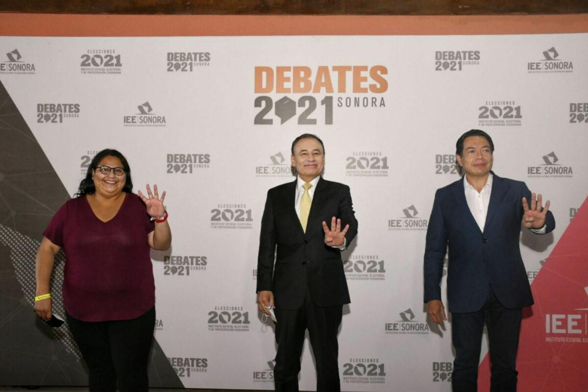 Durazo convence a los sonorenses en el primer debate