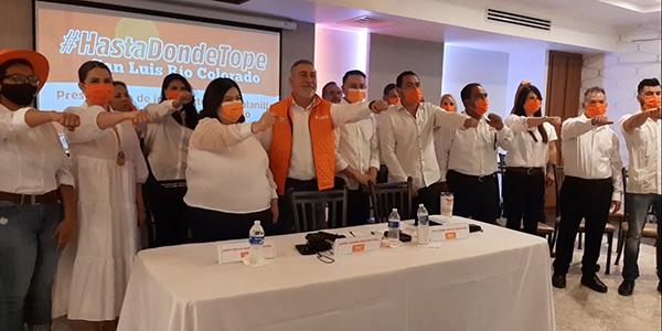 Montes Piña se dice listo para la contienda electoral