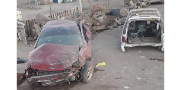Muere conductor en volcadura en el valle de SLRC