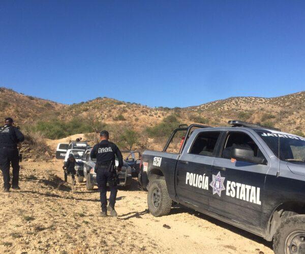 Asegura PESP y SEDENA arsenal de cartuchos y dos armas de fuego en Opodepe