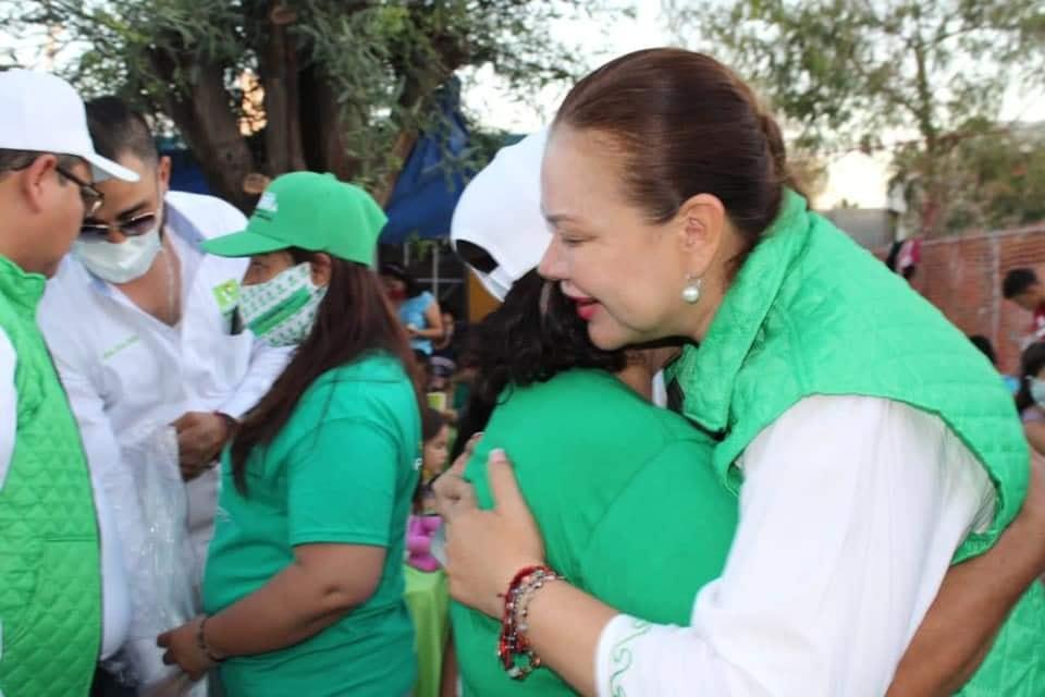 Líderes de las colonias Reforma y Campestre se reunieron con Hilda Herrera
