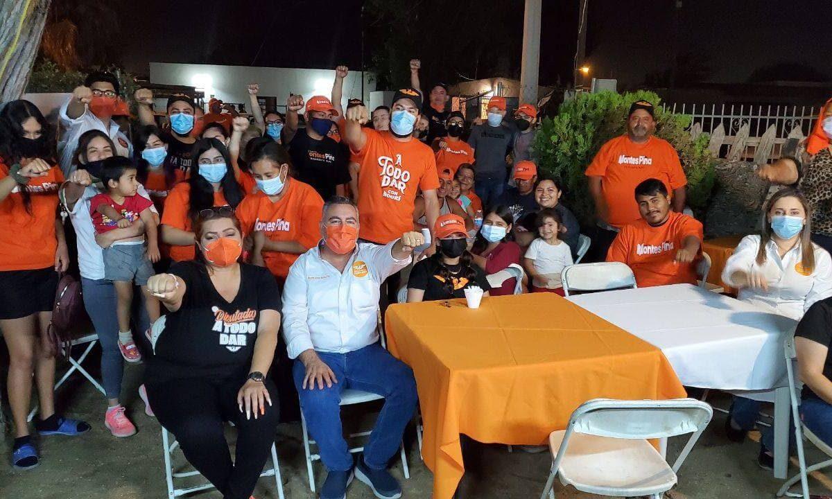 Llevará Montes Piña gobierno a las colonias de San Luis en su gestión como alcalde