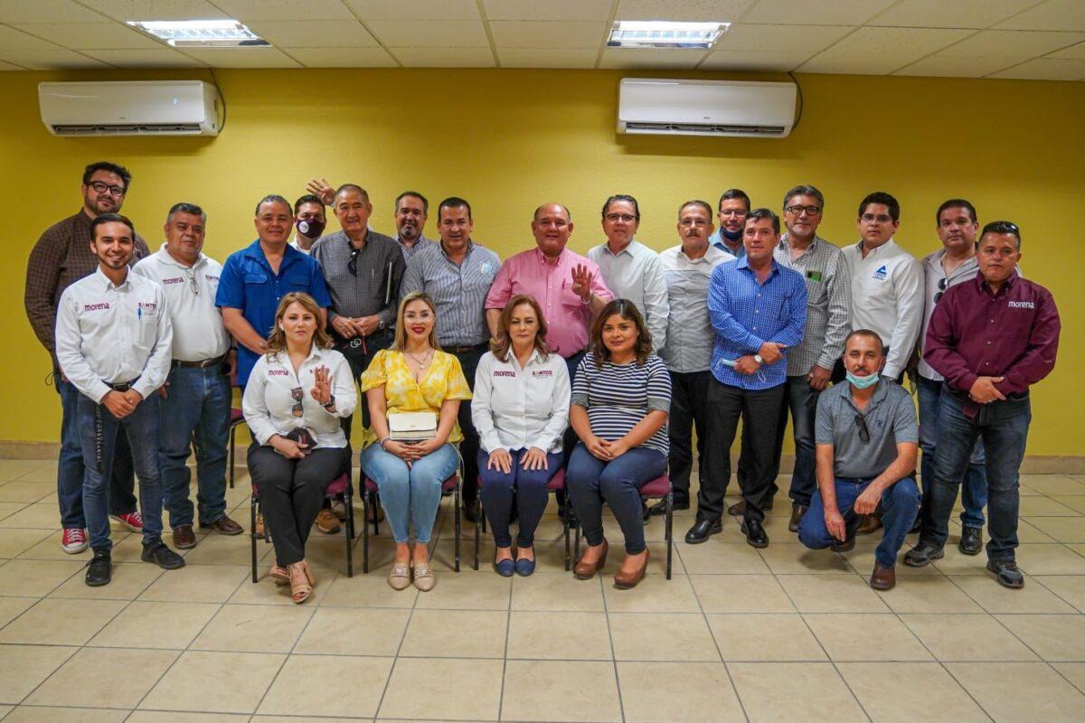Suman esfuerzos Santos y Canaco para seguir transformando San Luis.