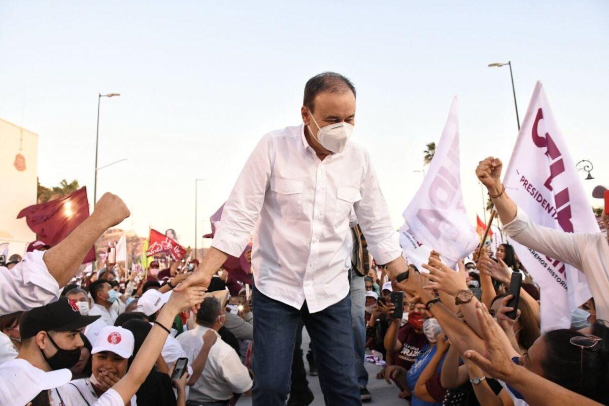 Sonora ya decidió: Alfonso Durazo gobernador.