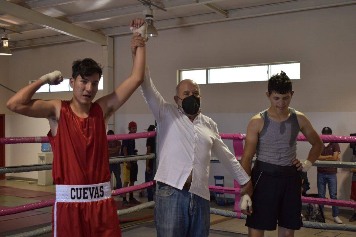 Sanluisino avanza rumbo al Nacional de Box