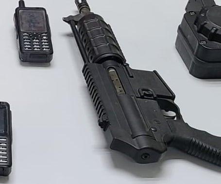 Saca PESP Sonora de circulación armamento de alto poder