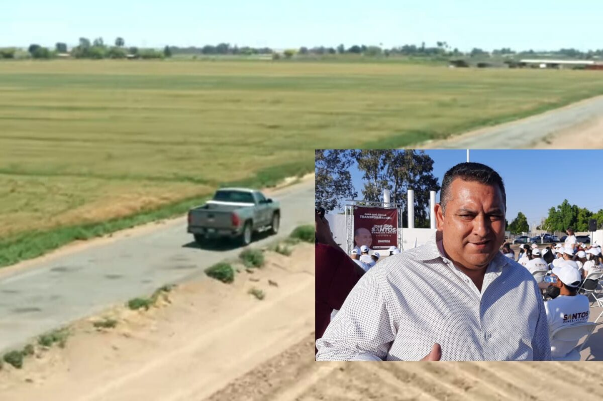 Propone Ricardo Lugo rehabilitación de caminos rurales.