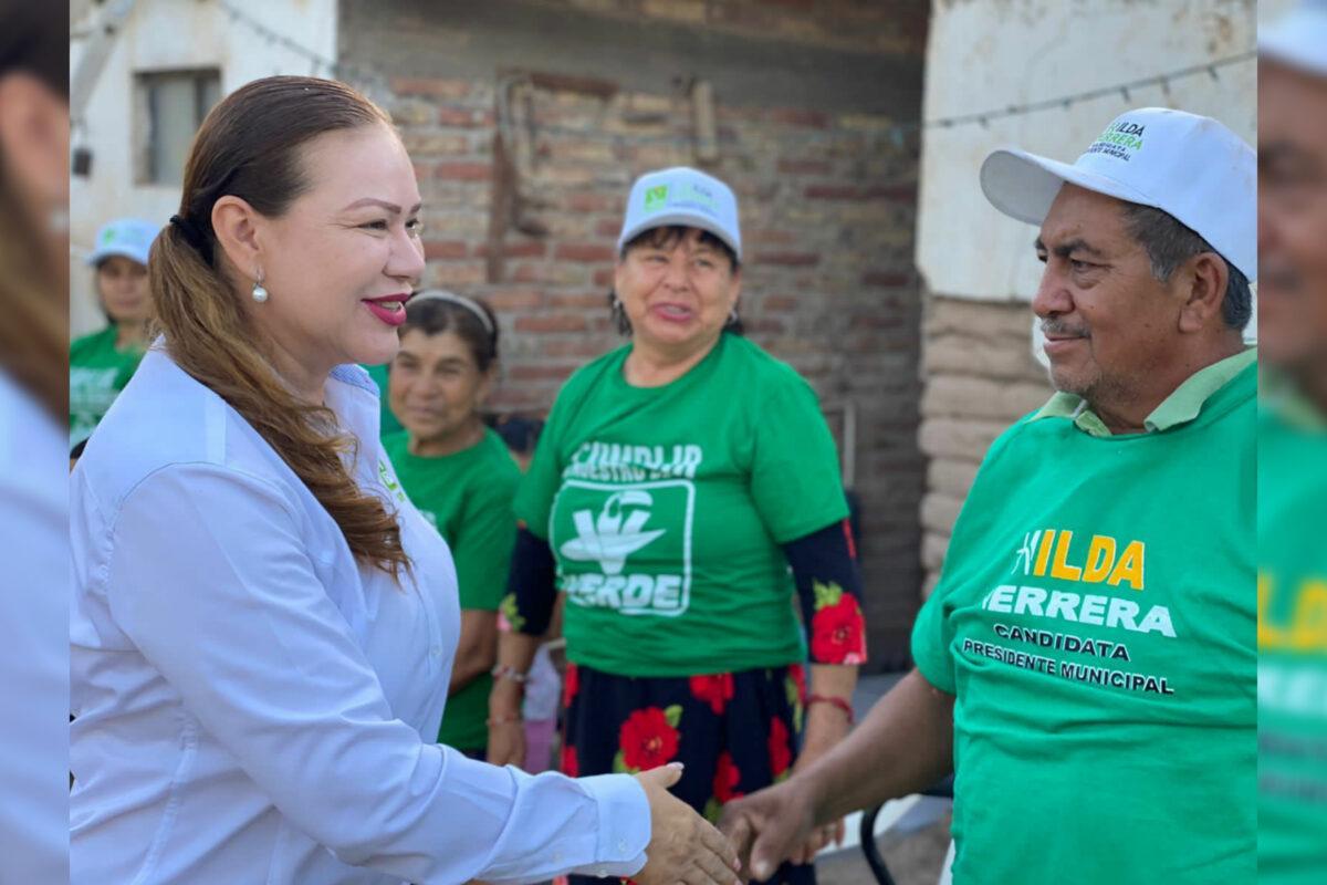 Sigue Hilda Herrera sumando el apoyo de la gente