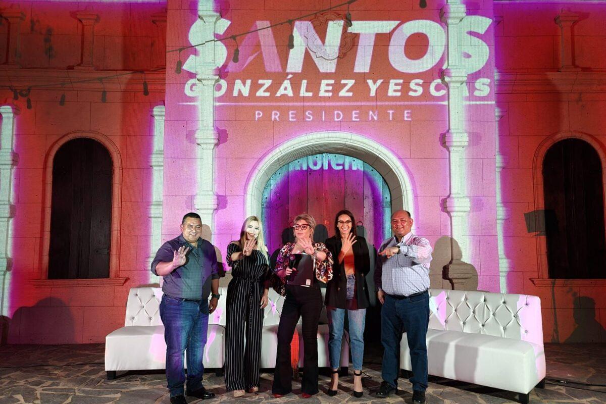 Respalda mujeres candidatos de Morena
