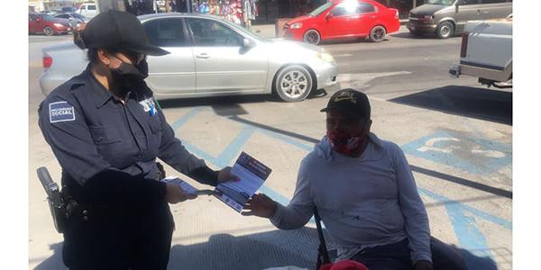 Pide Policía Municipal respetar estacionamientos azules