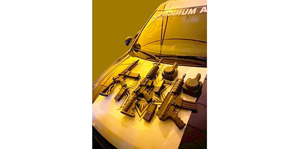 Aseguran autoridades a grupo armado en la colonia Mezquite