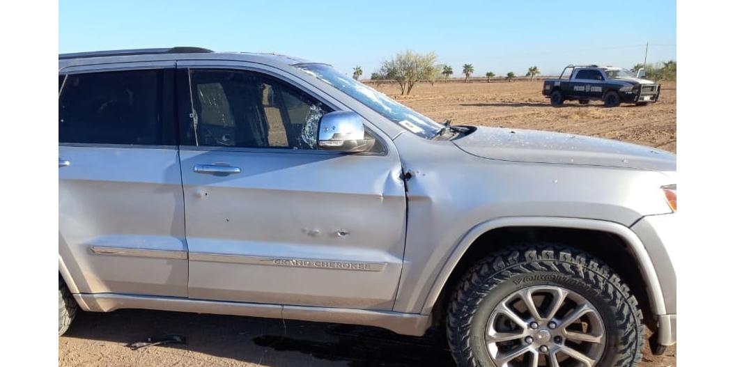 Capturan autoridades a grupo armado en Caborca tras repeler agresión
