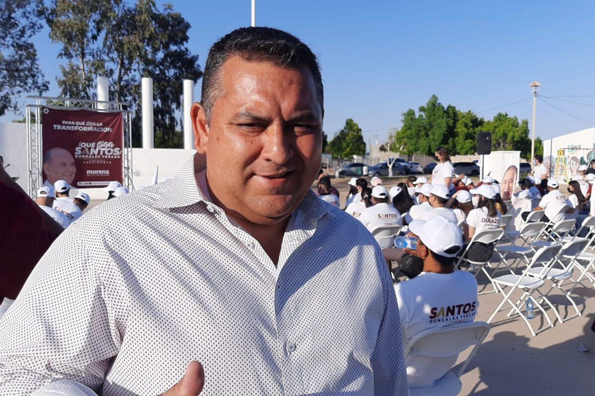 A días de la elección estamos arriba en las preferencias de los sanluisinos: Lugo Moreno