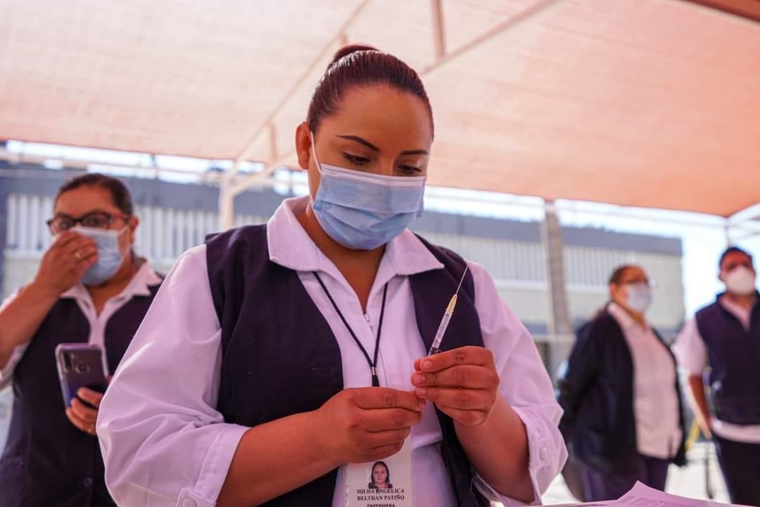 El miércoles estarán vacunando a personas rezagadas contra el Covid en SLRC