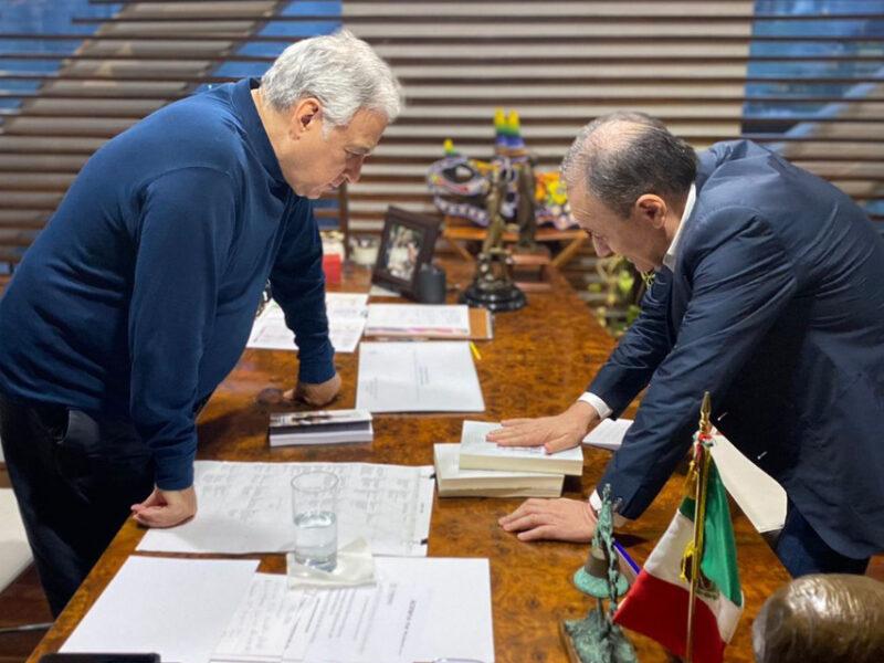 Durazo, se reúne con el secretario de Turismo; analizan proyectos para Sonora.