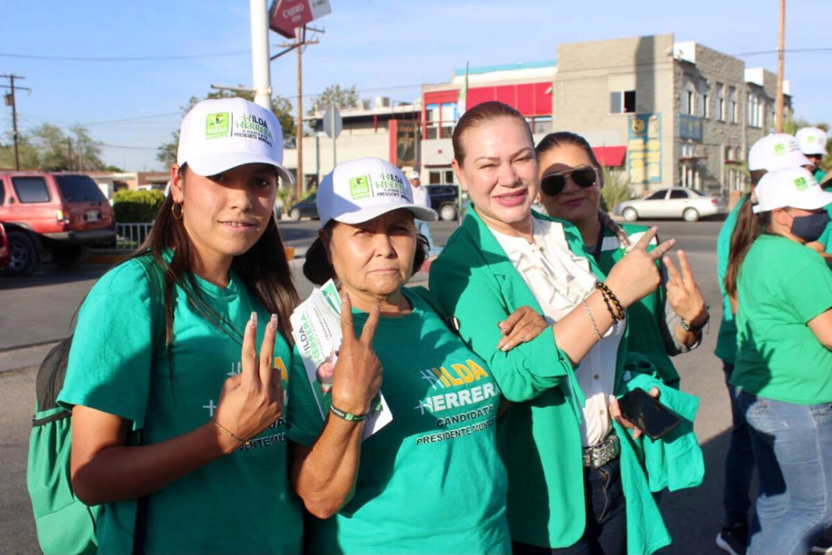 Ya es hora de que San Luis tenga una alcaldesa: Hilda Herrera