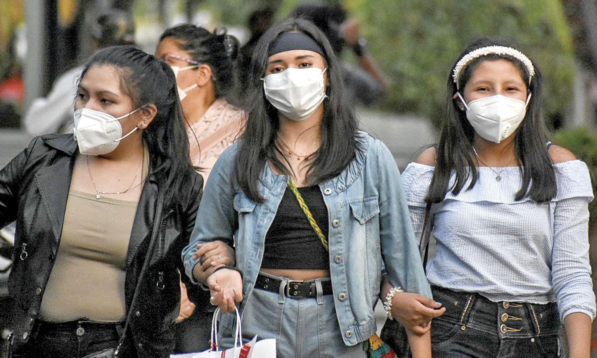 Llama Salud Pública a proteger vías respiratorias de las ráfagas de viento