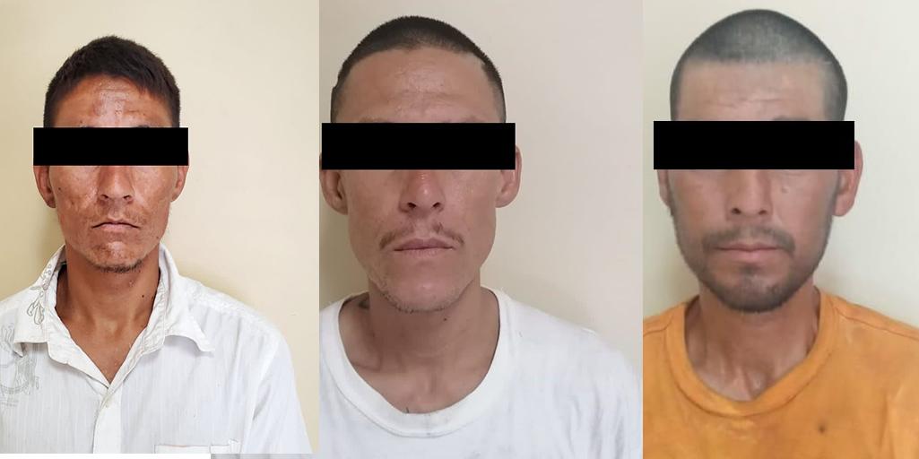 Detienen a tres hombres en posesión de drogas en SLRC