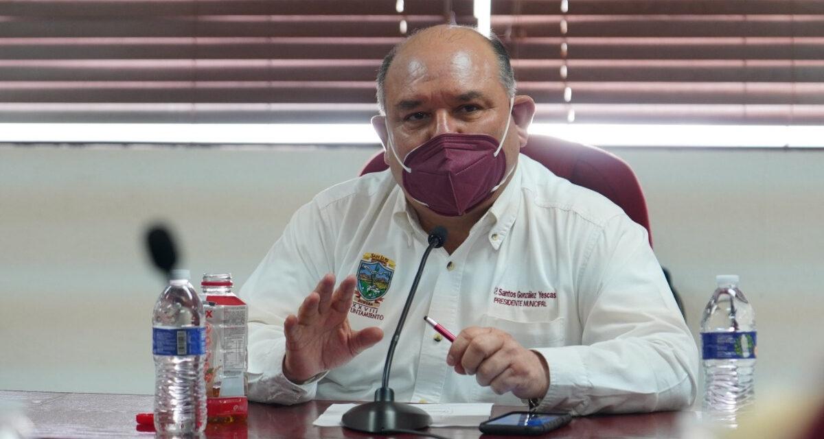 Llama Santos a los sanluisinos a mantener medidas de prevención por Covid-19